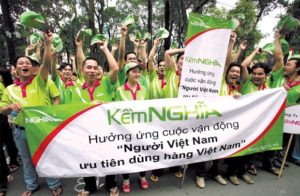 """Các khuyến mãi hưởng ứng cuộc vận động """"Người Việt Nam ưu tiên dùng hàng Việt Nam"""" thường được người tiêu dùng ủng hộ."""