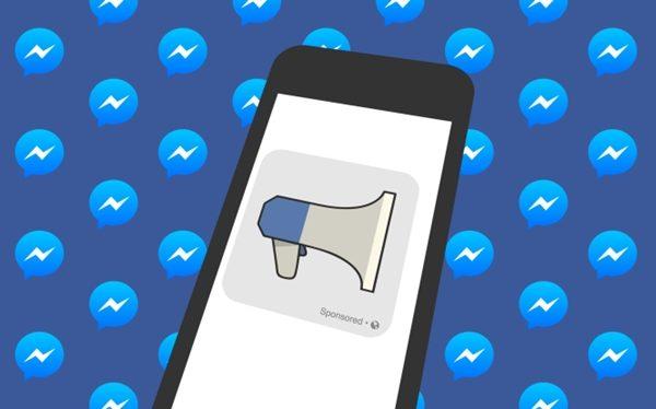 Facebook tiếp tục cho quảng cáo trên Messenger