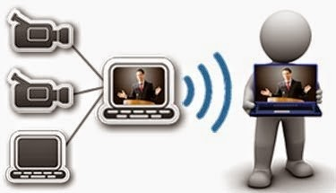 Truyền hình trực tiếp ngày nay được thực hiện đơn giản hơn rất nhiều.