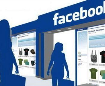 Facebook dần phổ biến với vai trò kênh mua sắm trực tuyến.