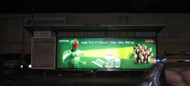 Giới thiệu về các hình thức quảng cáo trên xe bus