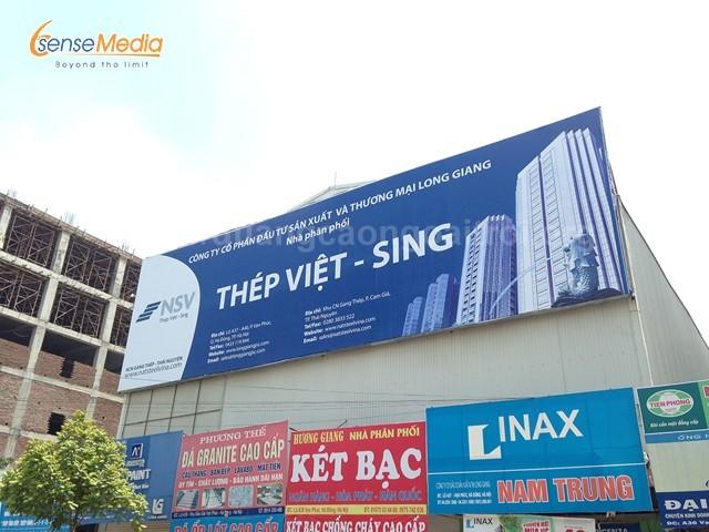 cho thuê, in pano quảng cáo ở Hà Nội