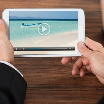Video được ưu tiên thiết kế cho nền tảng di động cũng giúp các nhà xuất bản có thêm nhiều cơ hội không nhỏ. Ảnh minh hoạ: GeoMarketing.