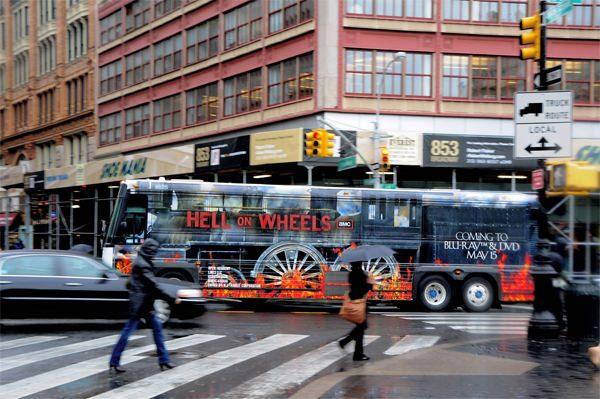 Quảng cáo độc đáo trên xe buýt