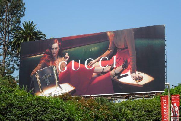 Billboard được nhiều thương hiệu lớn như Gucci tin tưởng.