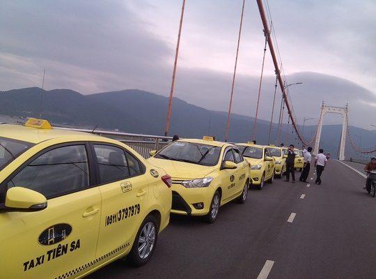 Quảng cáo taxi Tiên Sa tại Đà Nẵng