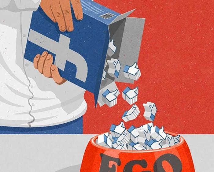 Gần 2 tỷ người đang thường xuyên online trên Facebook.