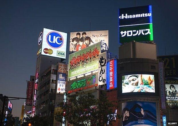 """Giao lộ Shibuya – với giá quảng cáo """"trên trời""""."""