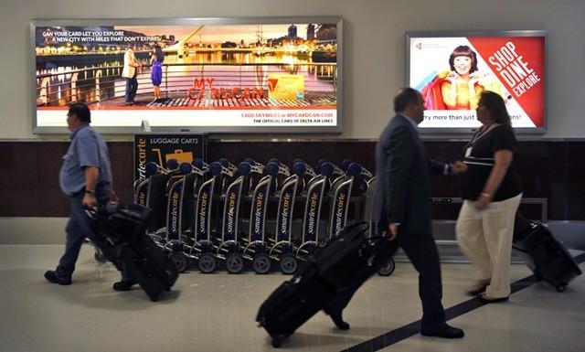 Sân bay Atlanta ở bang Georgia của Mỹ, vẫn là số 1 thế giới, với 94 triệu hành khách mỗi năm.