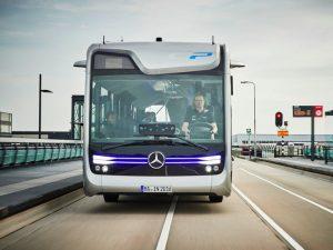 Tốc độ nhanh là một điểm cộng đáng kể của chiếc buýt này.