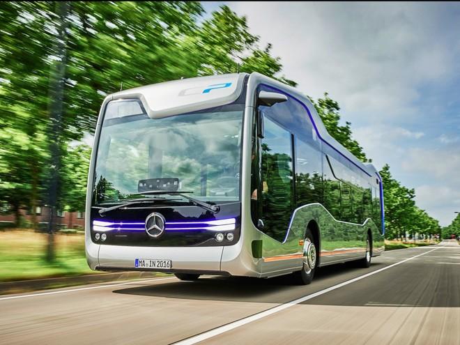 Chiếc Future Bus tiết kiệm nhiên liệu hơn buýt thường.