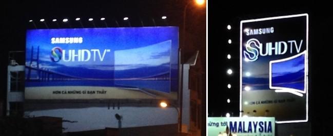 biển quảng cáo dọc - ngang