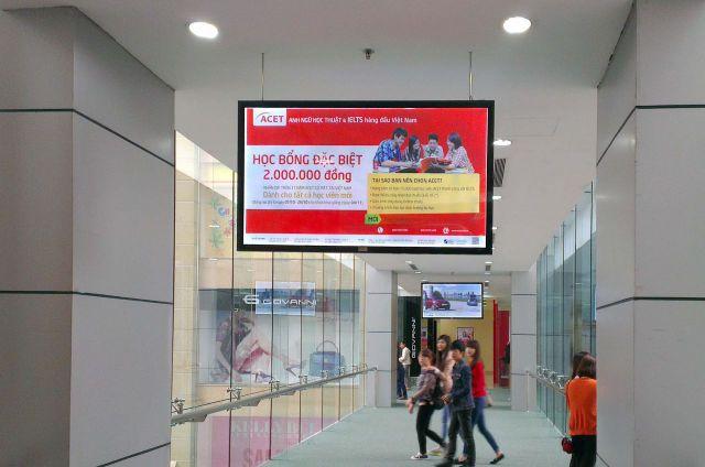 Quảng cáo trong tòa nhà
