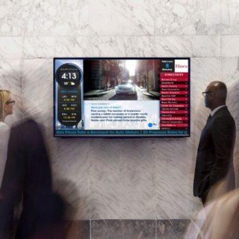 Màn hình led quảng cáo trong thang máy