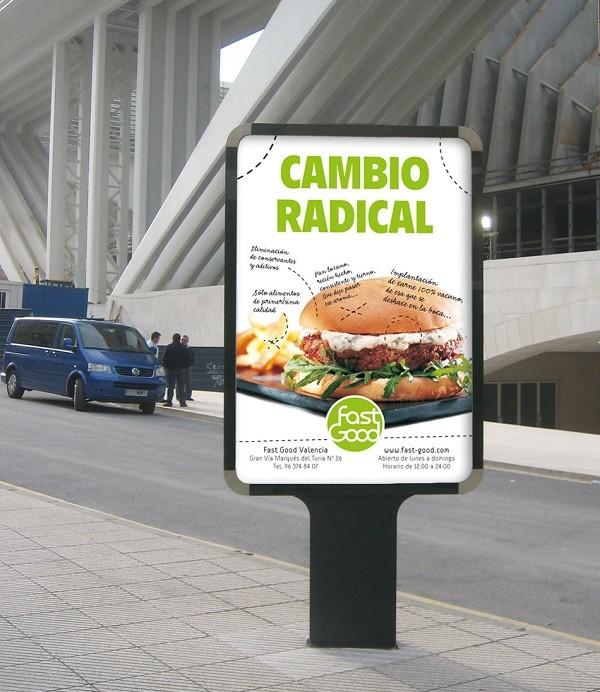 mẫu biển quảng cáo đứng