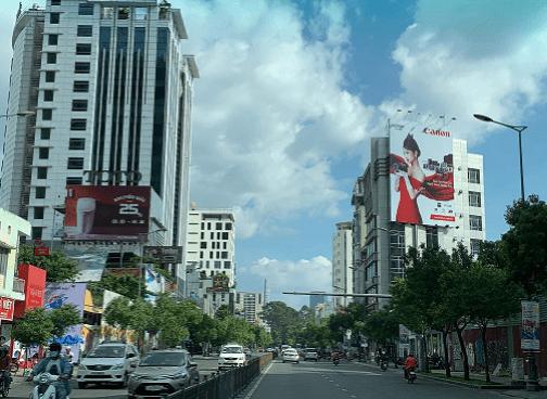 Pano quảng cáo tại số 203 Nam Kỳ Khởi Nghĩa, Quận 3, TPHCM