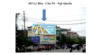 Pano quảng cáo tại số 493 Lý Bôn - Cầu Nề - Ngô Quyền, Thái Bình