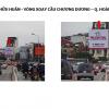 Pano quảng cáo tại số 2,4 Nguyễn Hữu Huân – Vòng xoay cầu Chương Dương, Hà Nội