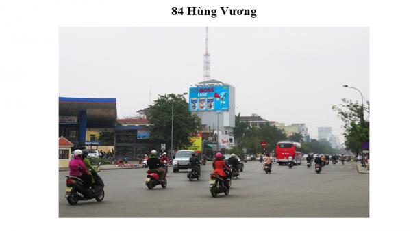 Pano quảng cáo tại số 84 Hùng Vương, TP.Huế
