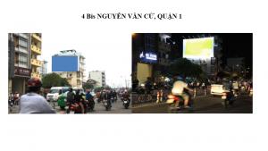 Pano quảng cáo tại số 4 Bis Nguyễn Văn Cừ, Quận 1, HCM