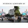 Pano quảng cáo tại Số 3 Hàng Da, Hà Nội