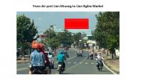 Pano quảng cáo hướng sân bay Liên Khương đi chợ Liên Nghĩa, Lâm Đồng