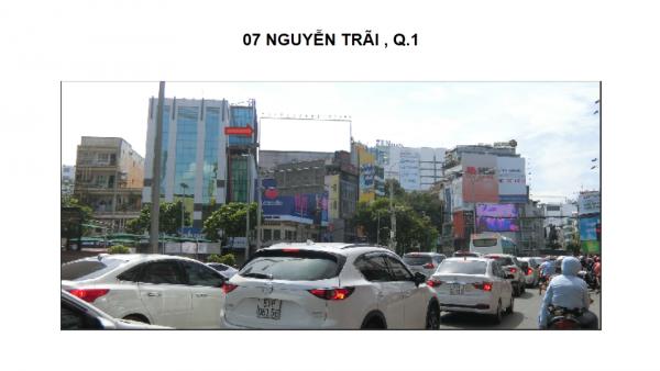 Pano quảng cáo tại số 7 Nguyễn Trãi, Quận 1, TPHCM