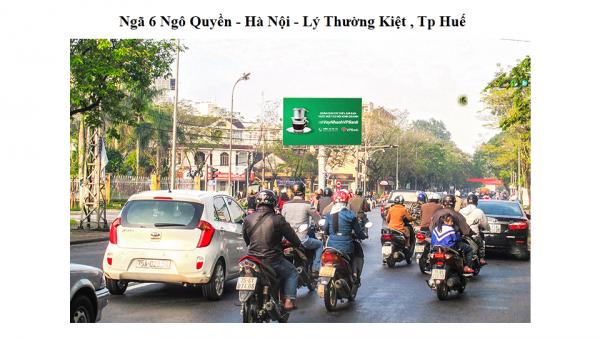 Billboard tại ngã 6 Ngô Quyền - Hà Nội, Lý Thường Kiệt, TP.Huế