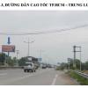 Billboard quảng cáo trên đường dẫn vào Cao tốc TPHCM - Trung Lương