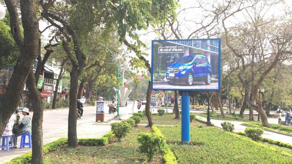 25 màn hình LED ở đường Thanh Niên - Hồ Thiền Quang - Phố Tây Sơn, Hà Nội