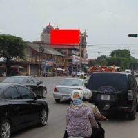 Pano quảng cáo tại đường Xương Giang, Cầu Sông Thương, Bắc Giang