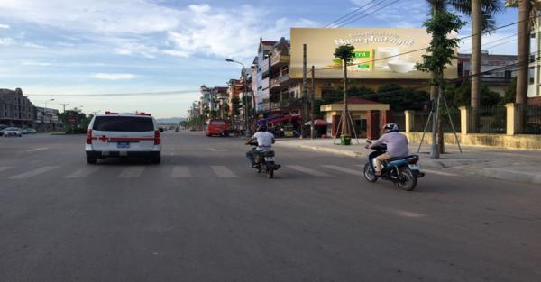 Dưới đây là thông tin chi tiết về Pano quảng cáo tại Ngã tư Hùng Vương – Lê Lợi, Bắc Giang
