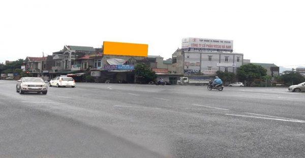 Pano quảng cáo tại Ngã tư quốc lộ 1A và DT494,Thanh Liêm, Hà Nam