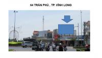 Pano quảng cáo tại số 64 Trần Phú, TP.Vĩnh Long