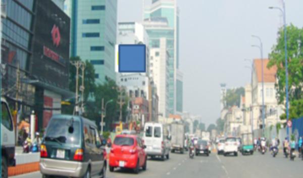 Pano quảng cáo tại số 82 Lê Lai, Quận 1, TPHCM