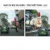 Pano quảng cáo tại Ngã tư Bùi Thị Xuân - Tôn Thất Tùng, Quận 1, TPHCM