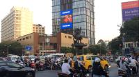 Màn hình led quảng cáo tại 76 Lê Lai, Quận 1, TPHCM
