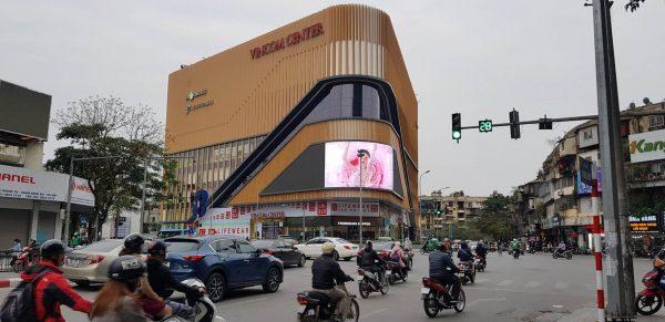 Màn hình LED tại Vincom Phạm Ngọc Thạch, Đống Đa, Hà Nội