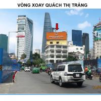 Pano quảng cáo tại Vòng xoay Quách Thị Tràng, Quận 1, TPHCM