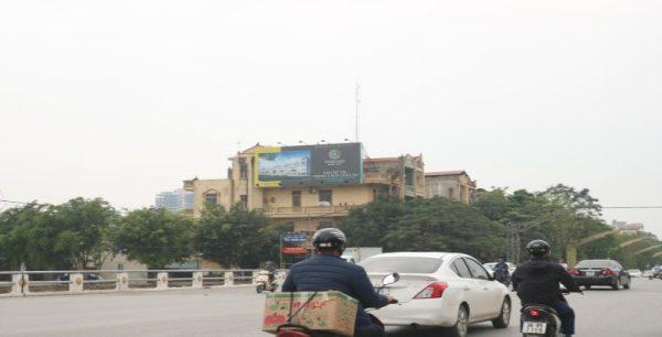 Pano quảng cáo tại số 1 Đại lộ Lê Lợi, TP.Thanh Hóa