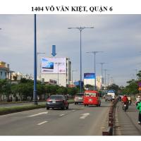 Pano quảng cáo tại số 1404 Võ Văn Kiệt, Quận 6, TPHCM