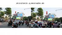 Pano ngoài trời tại 15 Lê Duẩn, Hoàn Kiếm, Hà Nội