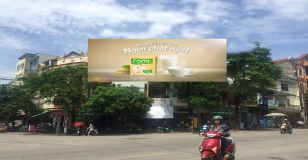 Pano quảng cáo tại số 2 Phan Thiết, TP.Tuyên Quang
