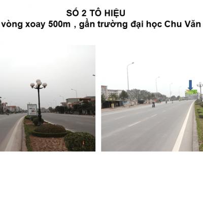 Pano quảng cáo tại số 2 Tô Hiệu, TP.Hưng Yên