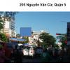 Pano quảng cáo tại số 205 Nguyễn Văn Cừ, Quận 5, TPHCM