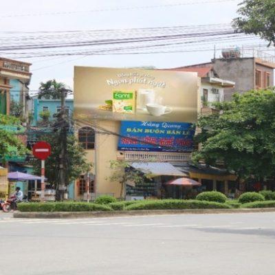 Pano quảng cáo tại số 209 Nguyễn Thái Học, Yên Bái