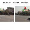 Pano quảng cáo tại số 229 Tô Hiệu, Hưng Yên