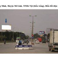 Billboard quảng cáo tại 24B Xã Quang Minh, Huyện Mê Linh, Hà Nội