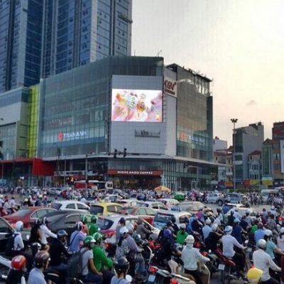 Màn hình LED quảng cáo tại số 3 Lê Trọng Tấn, Hà Nội