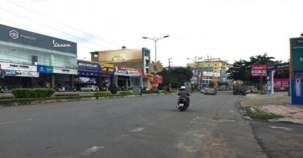 Pano quảng cáo ngoài trời tại số 424 Mê Linh, Vĩnh Phúc